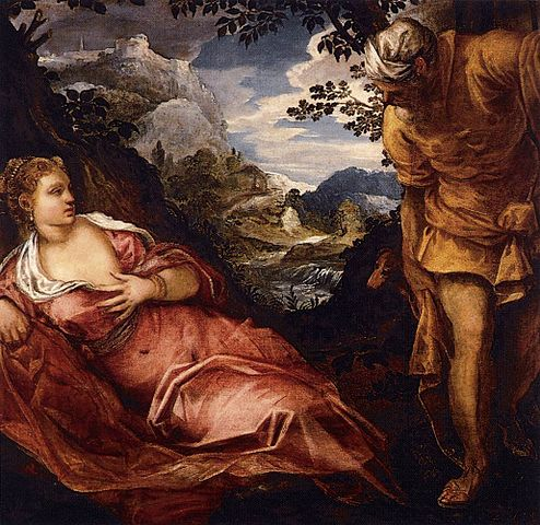 494px-Jacopo_Tintoretto_-_The_Meeting_of_Tamar_and_Judah_-_WGA22659